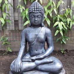 Boeddha Beeld Beton.Boeddha Van Beton Voor Buiten Kopen Tuinbeeldencenter Nl